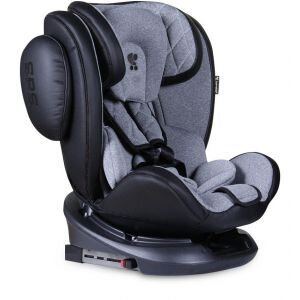 Lorelli Стол за кола Aviator Isofix 0-36KG Black+Lightgrey