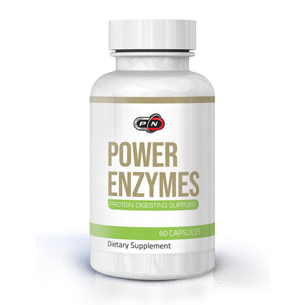 PURE NUTRITION - POWER ENZYMES - 60 КАПСУЛИ