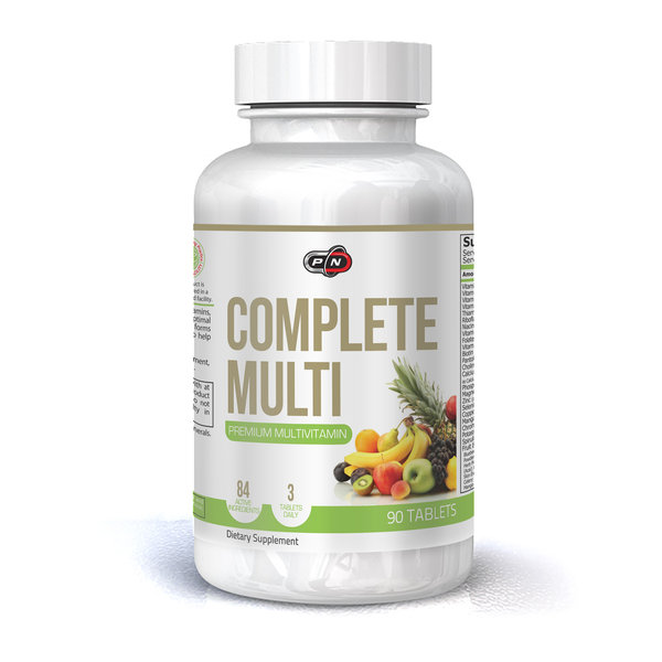 PURE NUTRITION - COMPLETE MULTI - 90 ТАБЛЕТКИ