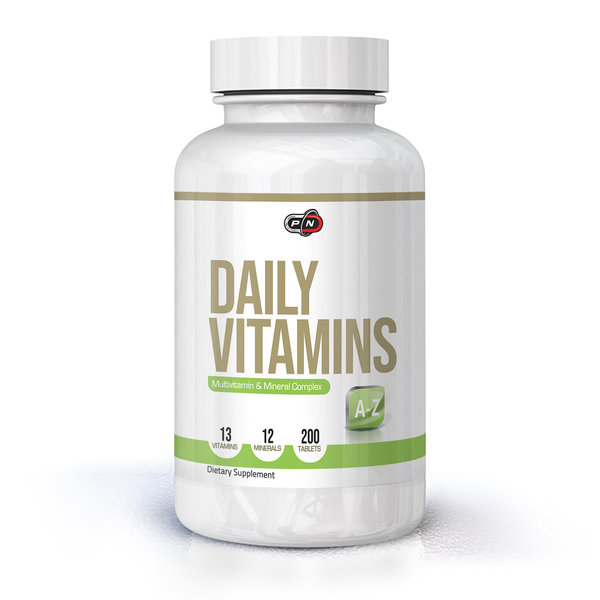 PURE NUTRITION - DAILY VITAMINS - 200 ТАБЛЕТКИ
