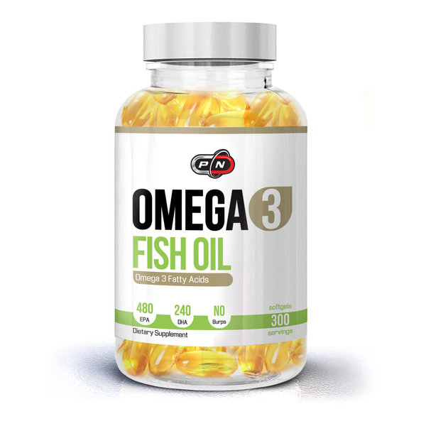 PURE NUTRITION - OMEGA 3 FISH OIL - 300 ДРАЖЕТА