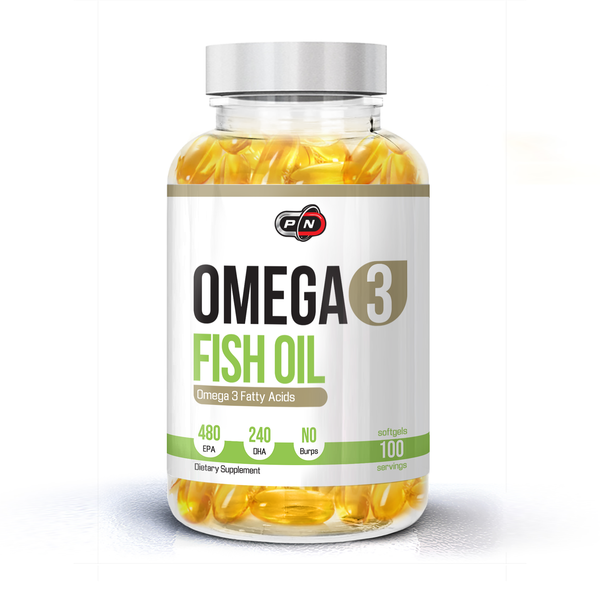 PURE NUTRITION - OMEGA 3 FISH OIL - 100 ДРАЖЕТА