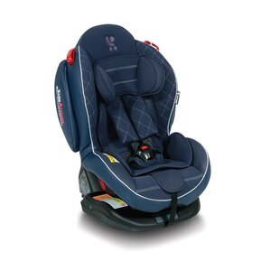 Стол за кола Lorelli ARTHUR ISOFIX Dark Blue Leather 0-25 кг.