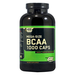 OPTIMUM NUTRITION - BCAA 1000 - 400 КАПСУЛИ