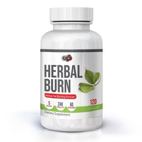 PURE NUTRITION - HERBAL BURN - 120 КАПСУЛИ