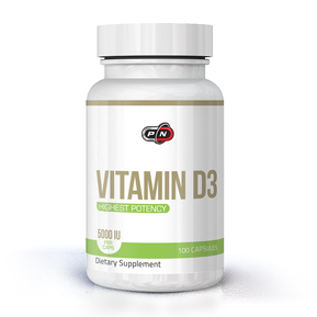 PURE NUTRITION VITAMIN D3 5000 IU 100 КАПСУЛИ