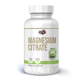 PURE NUTRITION - MAGNESIUM CITRATE - 200 МГ - 100 ТАБЛЕТКИ