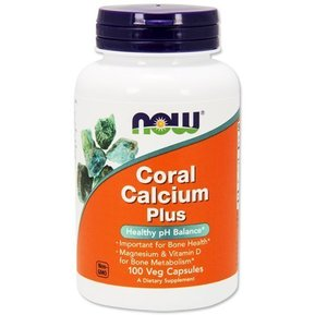 NOW - CORAL CALCIUM PLUS - 100 VCAPS