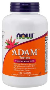 NOW - ADAM MEN`S VITAMINS - 120 ТАБЛЕТКИ