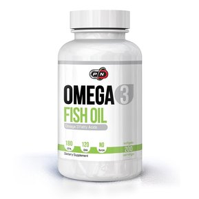 PURE NUTRITION - OMEGA 3 FISH OIL 180 EPA/120 DHA - 200 ДРАЖЕТА