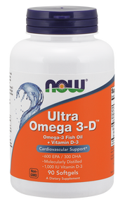 NOW - ULTRA OMEGA 3-D - 90 ДРАЖЕТА