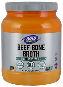 NOW SPORTS - BEEF BONE BROTH - 944g